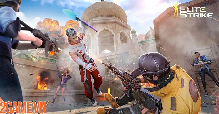 Thử tài xạ thủ và bùng nổ đầy phong cách trong game FPS Elite Strike 0