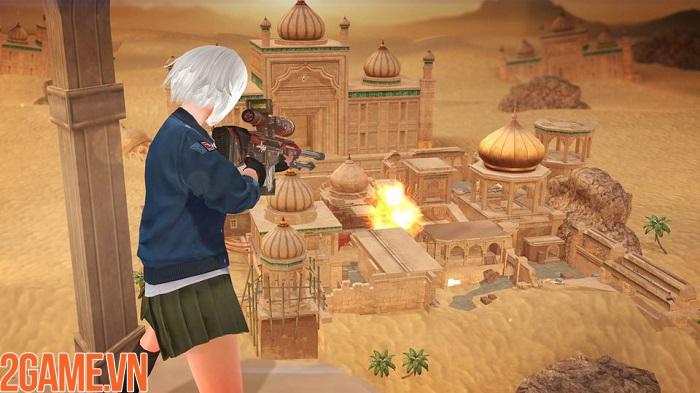 Thử tài xạ thủ và bùng nổ đầy phong cách trong game FPS Elite Strike 4