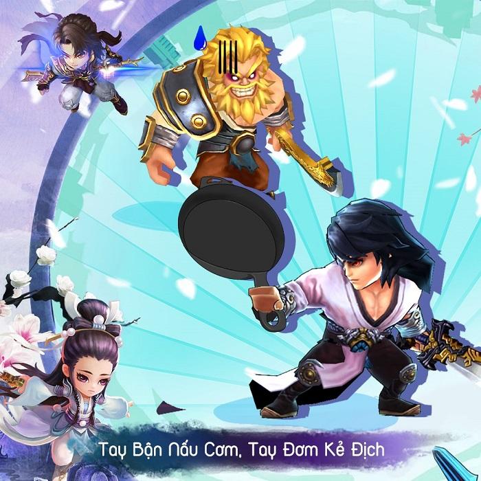 Luận Kiếm Mobile là sự lựa chọn lý tưởng cho những game thủ 'lười' LKM-2109-1
