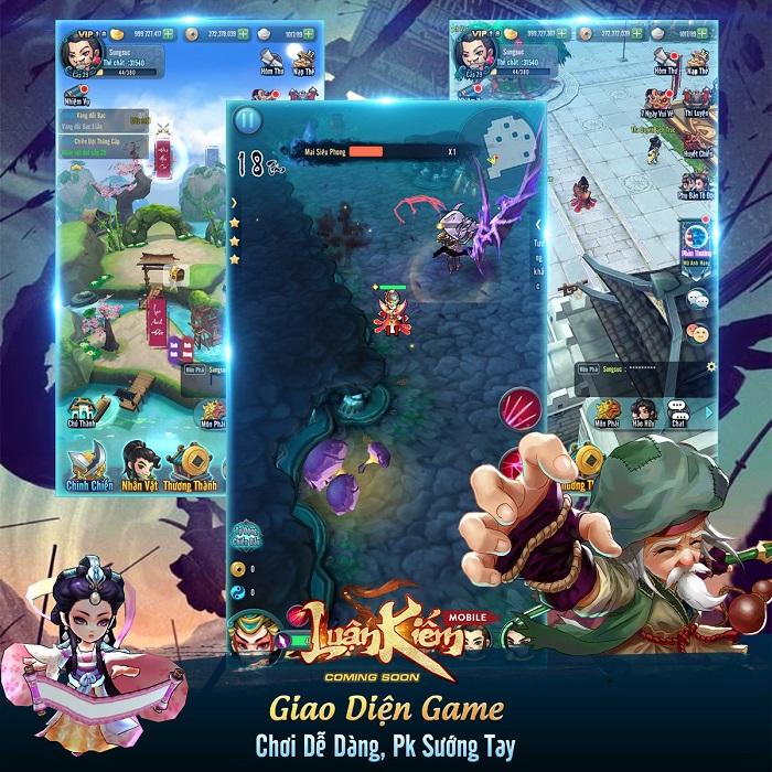 Luận Kiếm Mobile là sự lựa chọn lý tưởng cho những game thủ 'lười' LKM-2109-2