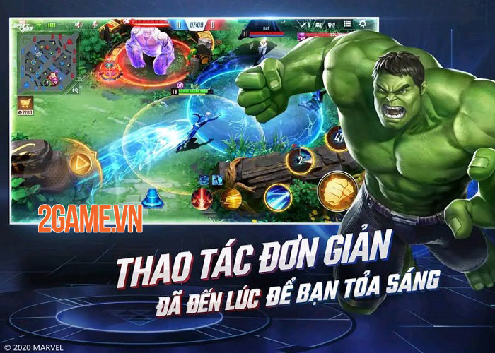 MARVEL Super War VN mở đăng kí trước tại Việt Nam, được phát hành thông qua Funtap 5