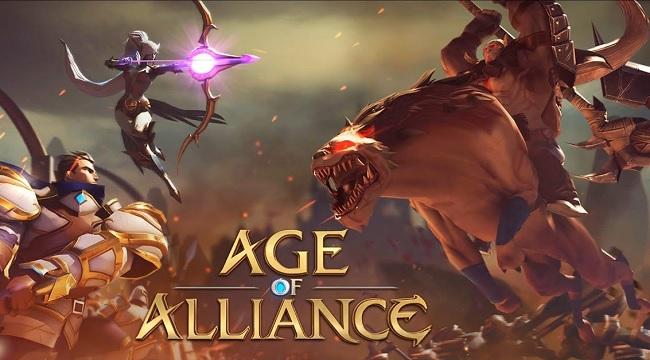 Triệu hồi Rồng Thần và chinh chiến trên sa trường trong Age of Alliance
