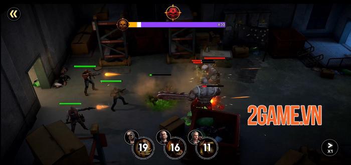 First Refuge: Z - Game chiến thuật SLG đề tài zombie nhiều nội dung phong phú 0