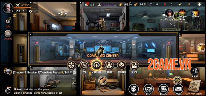 First Refuge: Z - Game chiến thuật SLG đề tài zombie nhiều nội dung phong phú 2