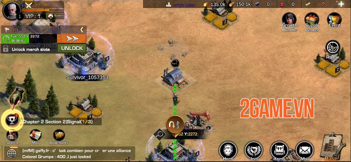 First Refuge: Z - Game chiến thuật SLG đề tài zombie nhiều nội dung phong phú 3
