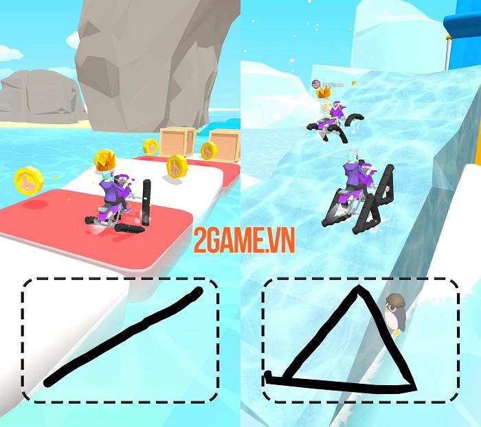 Scribble Rider - Game 'giết thời gian' tưởng không hay mà hay không tưởng 1