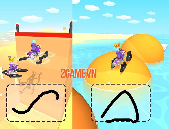 Scribble Rider - Game 'giết thời gian' tưởng không hay mà hay không tưởng 2