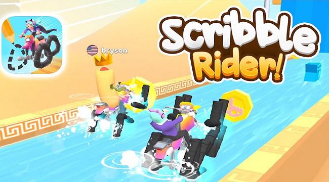 Scribble Rider – Game 'giết thời gian' tưởng không hay mà hay không tưởng