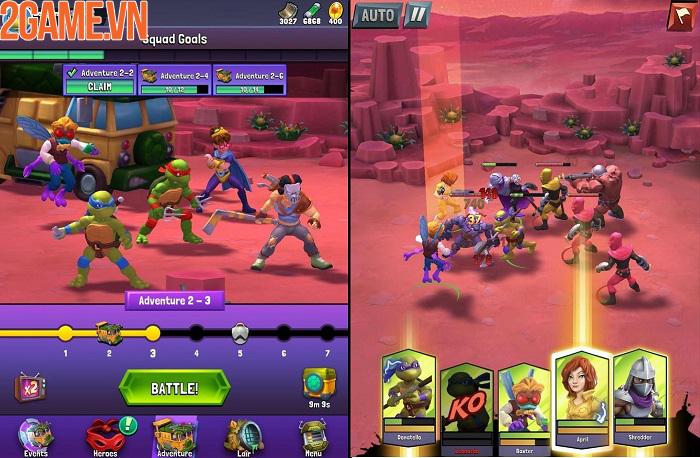 TMNT: Mutant Madness - Ninja Rùa giải cứu thế giới thoát khỏi hỗn loạn 0