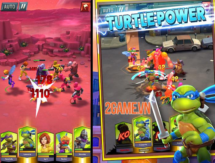 TMNT: Mutant Madness - Ninja Rùa giải cứu thế giới thoát khỏi hỗn loạn 1