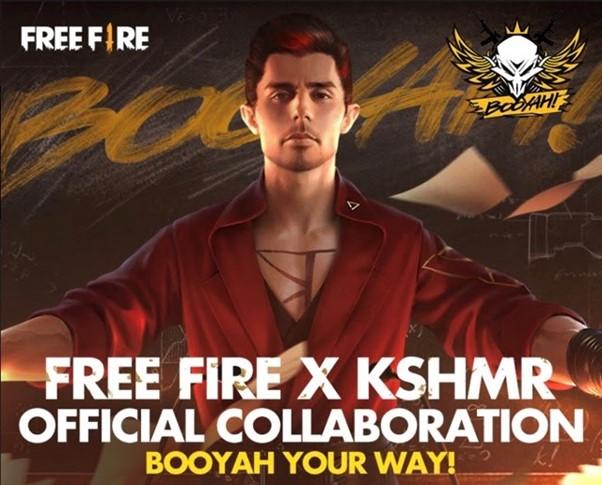 DJ nổi tiếng thế giới KSHMR trở thành 1 nhân vật trong Free Fire 0