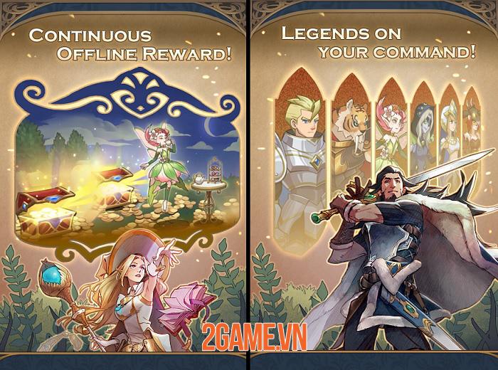 Legend of the Arena -  Trở thành người được chọn để gìn giữ trật tự thế giới khỏi hỗn loạn 1