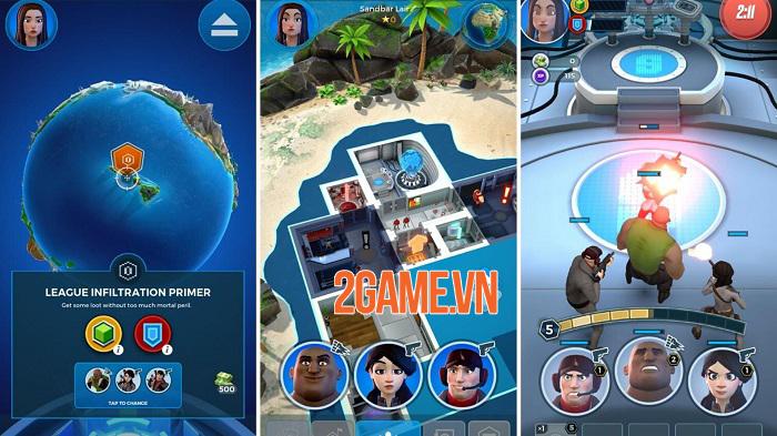 Spyjinx - Game chiến thuật bối cảnh thế giới gián điệp thú vị 2