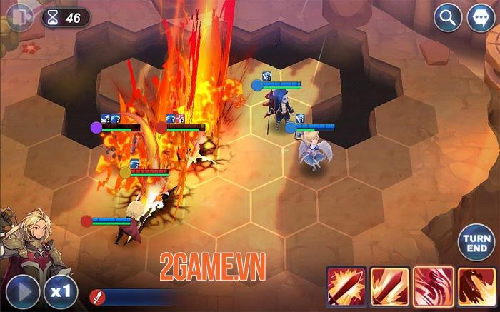 Kingdom of Heroes: Tactics War - Đồ họa đẹp mắt với nhiều nội dung hấp dẫn 4