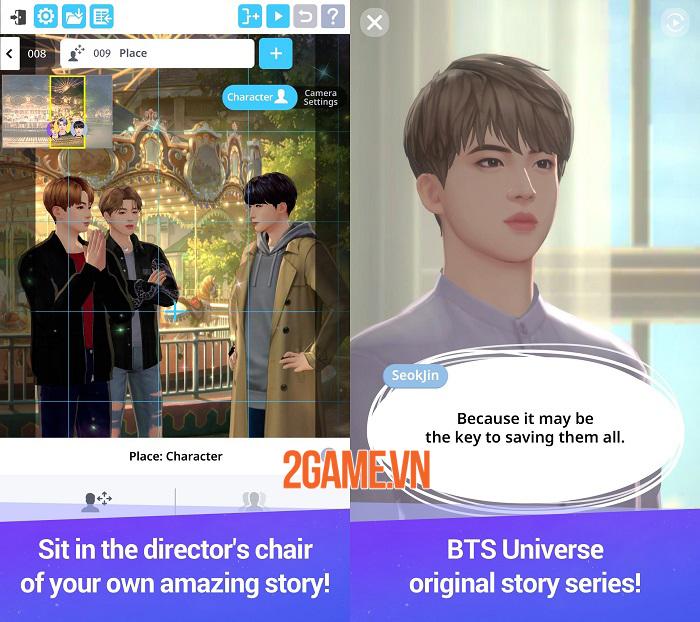 Game casual về nhóm nhạc nam đình đám BTS Universe Story ra mắt tại 173 quốc gia 2