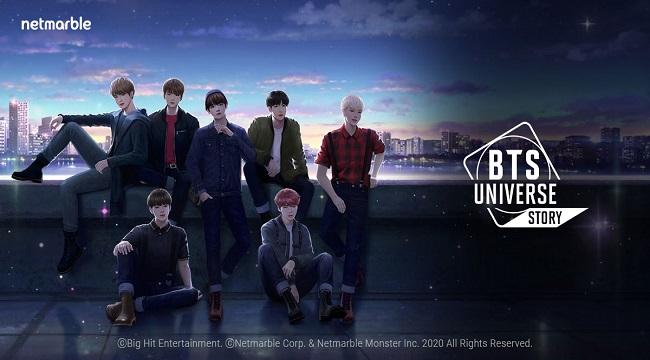 Game casual về nhóm nhạc nam đình đám BTS Universe Story ra mắt tại 173 quốc gia