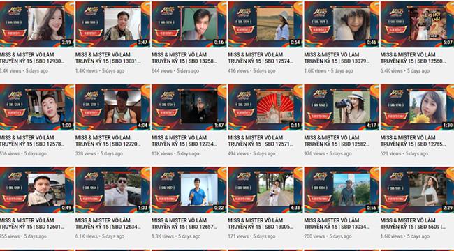 Say sưa theo dõi những clip chất lượng tại Bán kết Miss & Mister Võ Lâm Truyền Kỳ 15