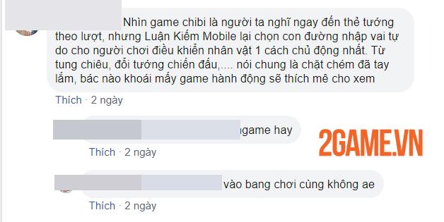 Game thủ vẫn say mê khám phá Luận Kiếm Mobile sau 3 ngày trải nghiệm 3