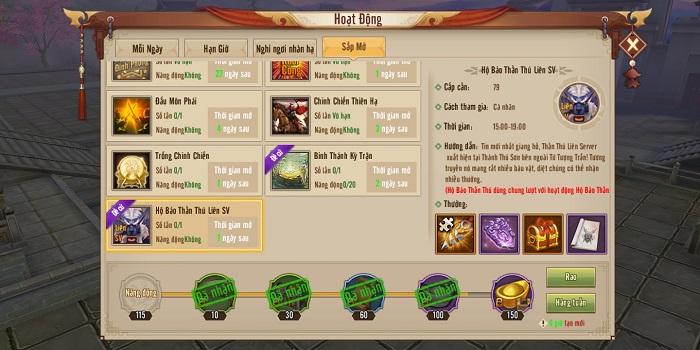 Tân Thiên Long Mobile luyện khả năng hỗn chiến nhóm với Hộ Bảo Thần Thú Liên Server 2