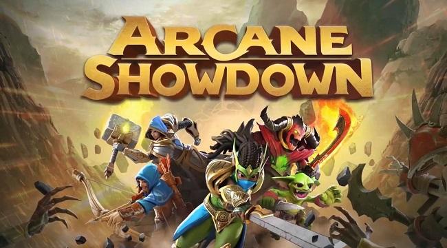 Hóa thân thành đại pháp sư phục dựng đế chế trong Arcane Showdown