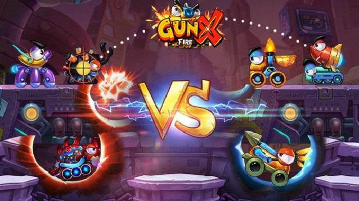 Tặng 500 giftcode game GunX: Fire mừng chính thức ra mắt 5