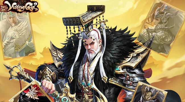 Tam Quốc Vương Giả tặng 200 giftcode mừng cập nhật Lưu Kim Thần Tướng