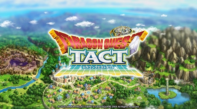 Dragon Quest Tact sử dụng bản đồ chiến đấu dạng caro với đồ họa 3D sống động