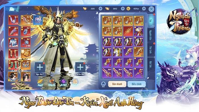 VTC mở đăng kí tải trước cho game mới Nghịch Thiên Kiếm Thế 4