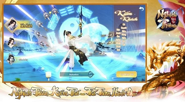 VTC mở đăng kí tải trước cho game mới Nghịch Thiên Kiếm Thế