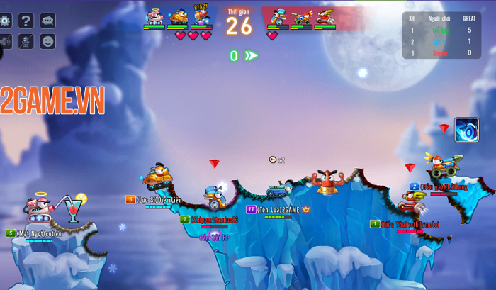 Bắn súng tọa độ và tác chiến cực căng cùng đồng đội trong GunX: Fire 0
