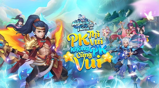 Game PK giải trí đỉnh nhất 2020 Nghịch Thiên Với Ta sắp ra mắt làng game Việt