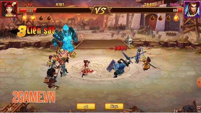 Tam Anh Thủ Thành - Game Tower Defense 3Q độc lạ giữa rừng game Việt 6