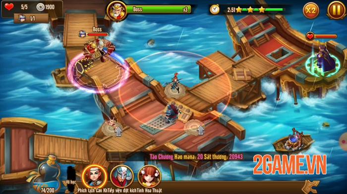 Tam Anh Thủ Thành - Game Tower Defense 3Q độc lạ giữa rừng game Việt 3