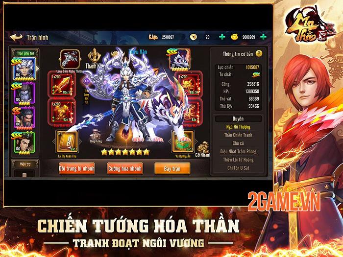 Ma Thần Tam Quốc - Game thẻ tướng đột phá lối chơi cập bến Việt Nam 0