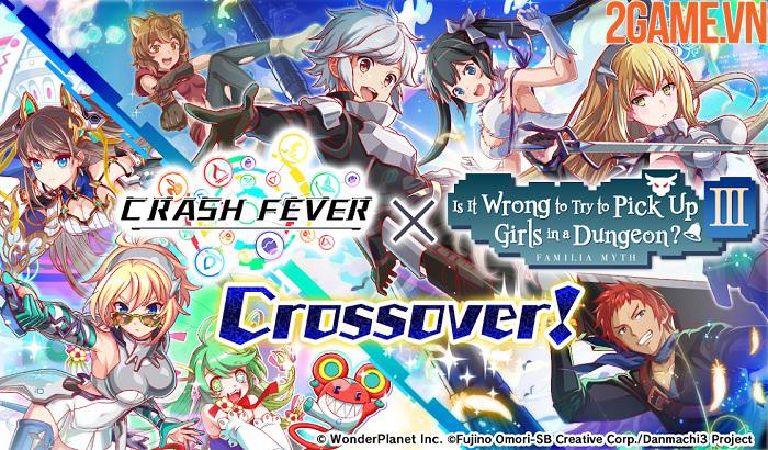 Crash Fever - Game nhập vai kết hợp các khối ma pháp đầy màu sắc 0