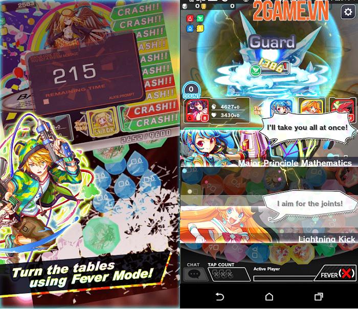 Crash Fever - Game nhập vai kết hợp các khối ma pháp đầy màu sắc 3