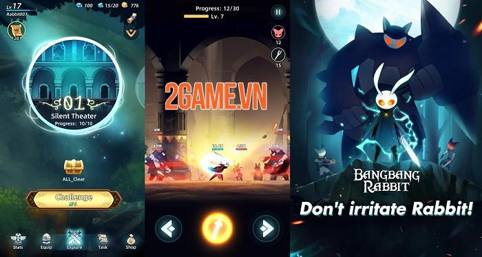 Bangbang Rabbit - game hành động với các pha PK vô cùng đặc sắc 2