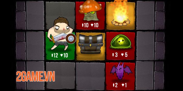 Dungeon Drifter - Game roguelike có thiết kế map lưới ô vuông 5x5 1