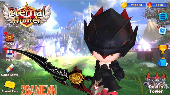 Khai phá bí cảnh và săn lùng quái vật trong game nhập vai Eternal Hunter 5