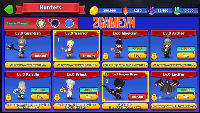 Khai phá bí cảnh và săn lùng quái vật trong game nhập vai Eternal Hunter 0