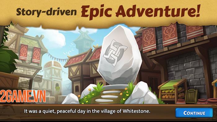 Heroes of Whitestone - Game nhập vai khám phá kỳ quan phong cách mới 0