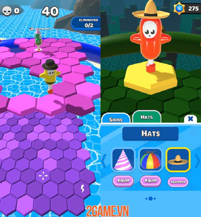 Hex Stars - game sinh tồn sở hữu gameplay vui nhộn và kịch tính 2