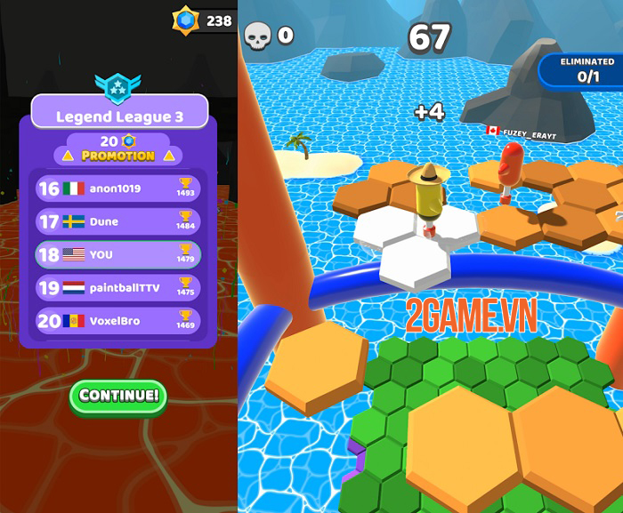 Hex Stars - game sinh tồn sở hữu gameplay vui nhộn và kịch tính 1