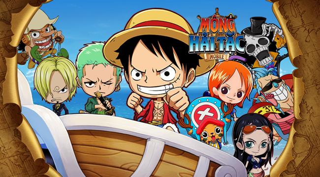 Cùng Luffy săn lùng kho báu One Piece trong game mới Mộng Hải Tặc Mobile