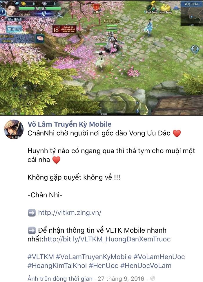 Cộng đồng VLTK Mobile náo loạn truy tìm Chân Nhi nhận phần thưởng hậu hĩnh 0