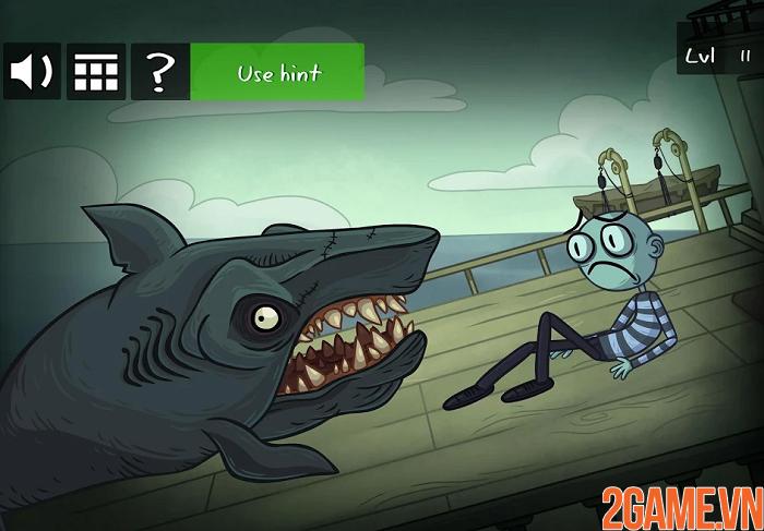 Troll Face Quest Horror 2 - Cười banh nóc với game kinh dị độc lạ 3