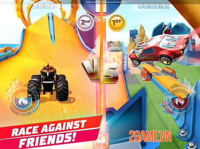 Hot Wheels Unlimited - Game đua xe cho phép người chơi tự tạo đường đua riêng 2