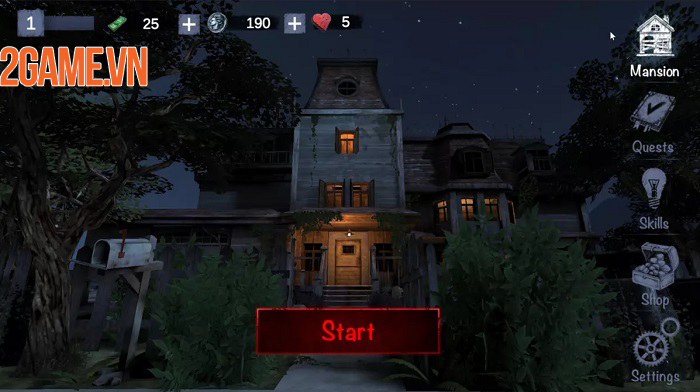Trốn chạy khỏi kẻ bắt cóc đáng sợ và kỳ dị trong game Unlucky postman 2
