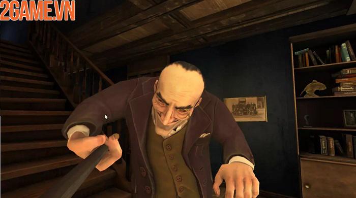Trốn chạy khỏi kẻ bắt cóc đáng sợ và kỳ dị trong game Unlucky postman 1