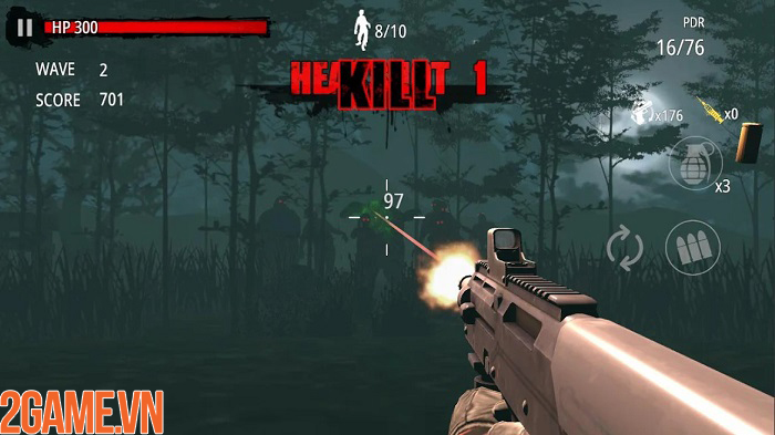 Zombie Hunter D-Day - Cuộc đổ bộ đầy đẫm máu của thây ma 3